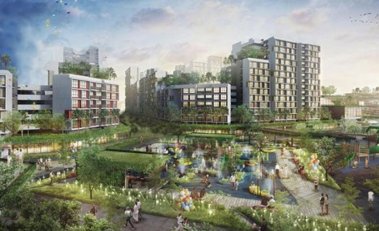 New Tengah Town Amenities to be Featured